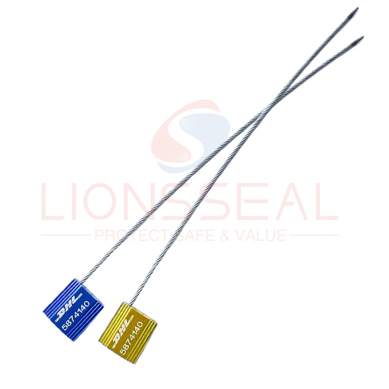 numbering aluminium alloy cable seal 2.5mm