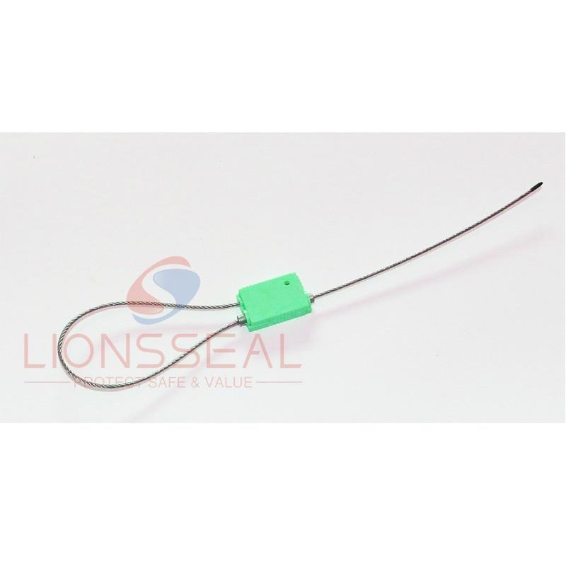 plastic cover zinc alloy square cable seal LS305